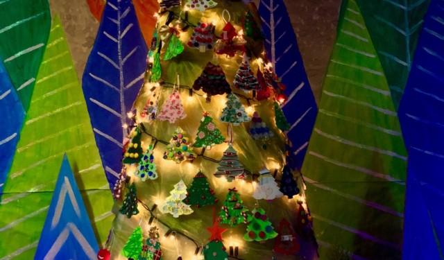 O cheirinho e a luz do Natal