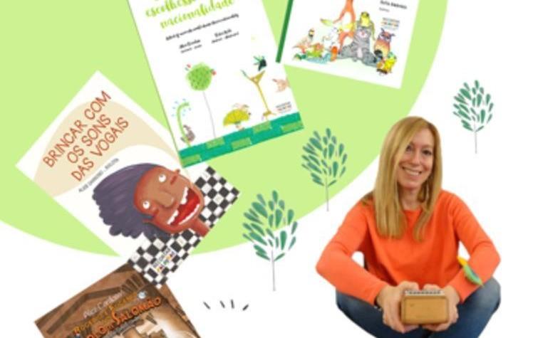 Visita da Escritora Alice Cardoso