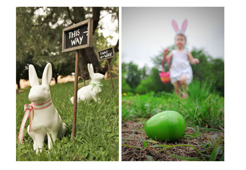 """No dia 28 de março colocamos os """"pés ao caminho"""" e fizemos a nossa caça aos ovos! Vejam as fotos no ChildDiary."""